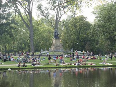 Quizypedia monuments et lieux c l bres d 39 amsterdam for Jardins anglais celebres